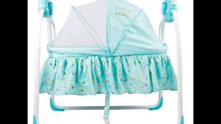 Electric Baby Music Sleeping Basket Bed