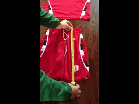 Basketball Uniforms | Sizing Chart Instructions From Brand 40