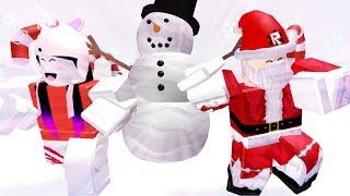 santa sagen mir - ariana grande (ROBLOX CHRISTMAS SPECIAL)