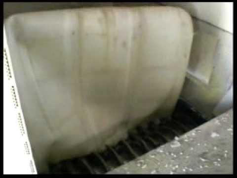 TRITURATORE CON GRANULATORE PER CISTERNE IN PLASTICA - www.tritotutto.com