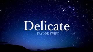 Delicate - Taylor Swift (tradução/português)