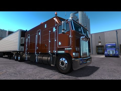 American Truck Simulator Kenworth K100 Super Cab