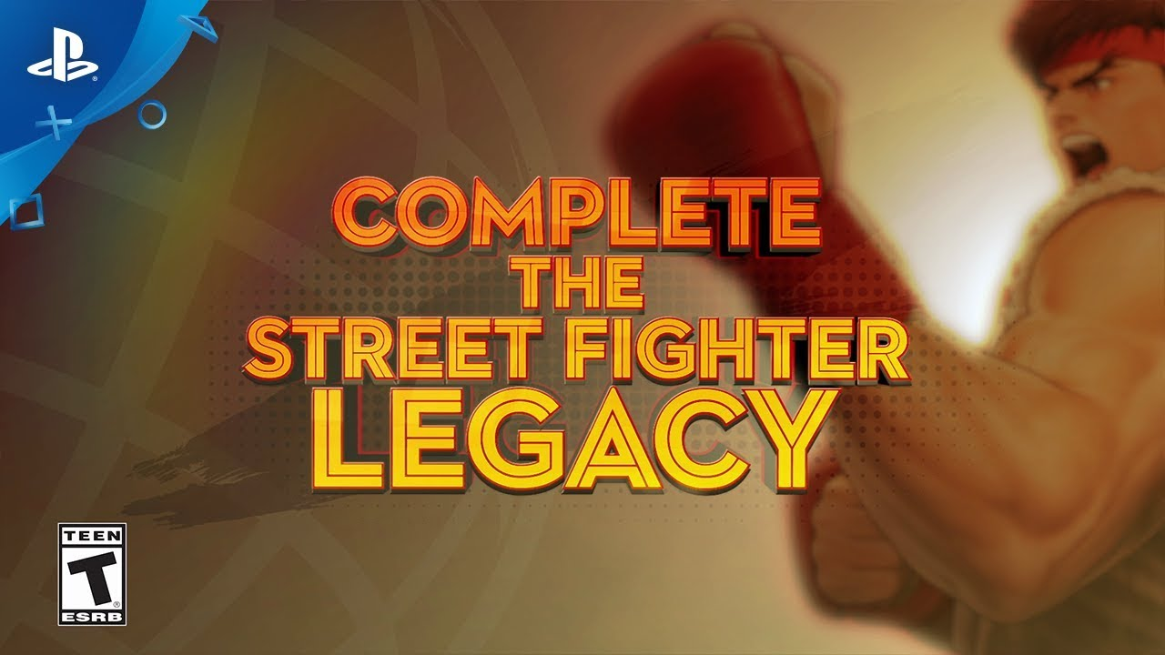 Street Fighter 30th Anniversary Collection Arrives On May 29 2018
