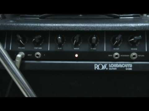 ROSS LOUDMOUTH G1280 GUITAR AMP DEMO.wmv