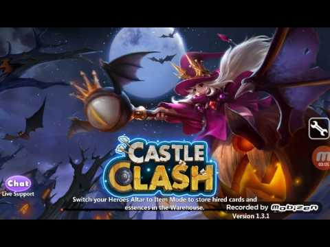 Castle Clash : Hack Skill Dracax To Druid ( Root Need )