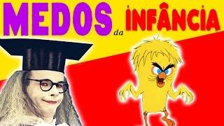 OS MAIORES MEDOS DA INFÂNCIA | Especial 500k