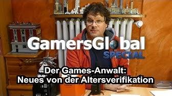 Altersverifikation bei FSK/USK 18 Games im Versand: Games-Anwalt