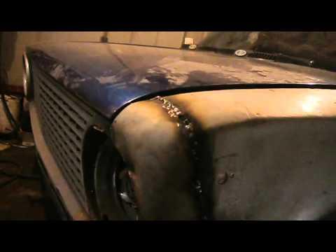 GBK Режим крыло и свариваем VAZ 2101 Кузовный Ремонт
