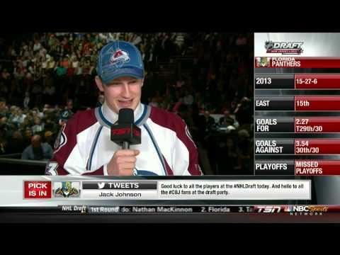 2013 NHL Entry Draft. Top 3 Picks. Nathan MacKinnon, Aleksander Barkov, Jonanthan Drouin. NHL Hockey