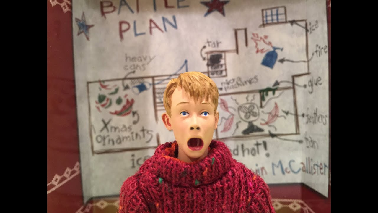 Unboxing Necas Kevin Mccallister From Home Alone Youtube