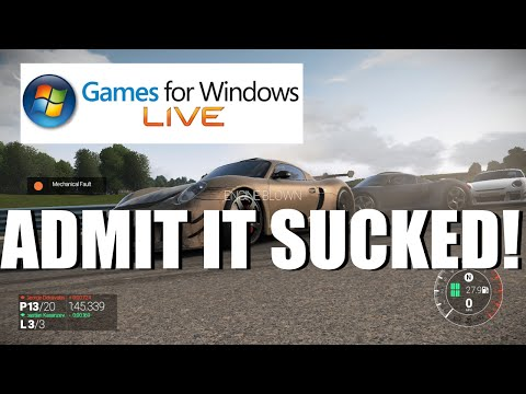 Microsoft Admits Games For Windows Live Sucked
