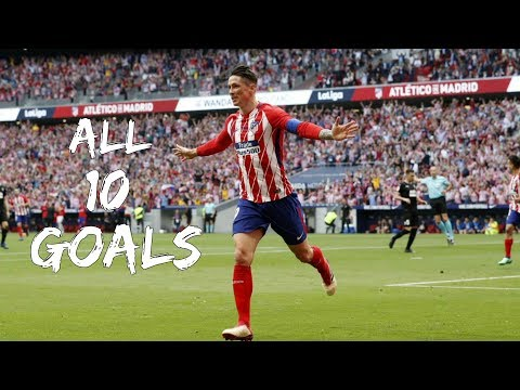 Fernando Torres - All 10 Goals for Atletico Madrid - 2017/2018 HD