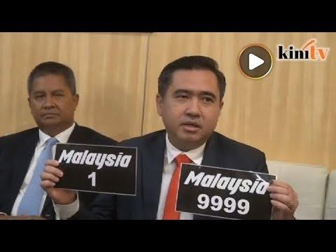 Nombor plat 'Malaysia' dibuka 2 Julai ini - Menteri