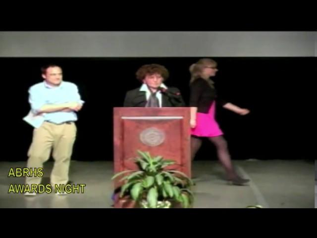 ABRHS Awards Night 2012