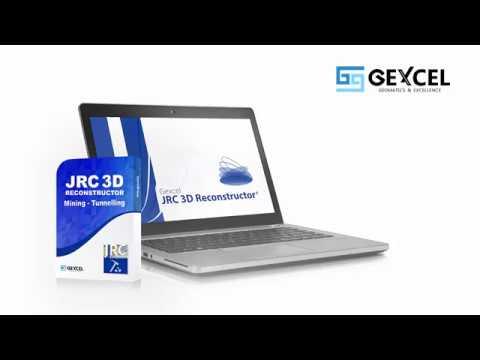 JRC 3D Reconstructor MINING - TUNNELING Microgeo S.A.