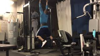 100lbs Weighted Pull Up PR