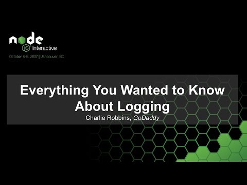 Everything You Wanted to Know About Logging