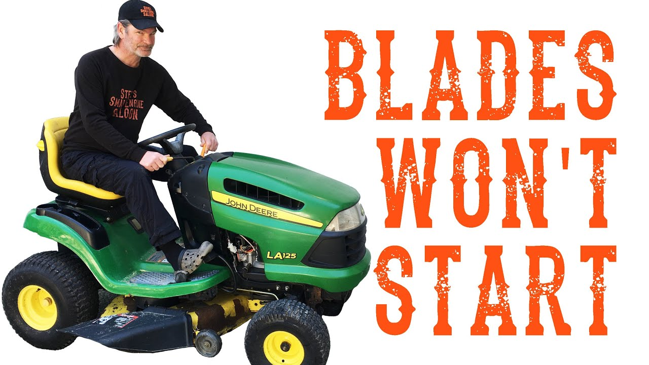 Check This First If Your Riding Lawn Mower Stalls When You Engage The  Blades - Video