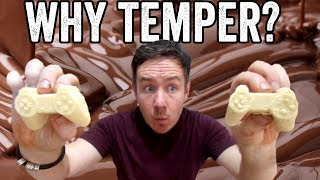How to temper chocolate & why vs basic melting
