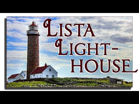 Lista Lighthouse Norway - Nordberg Fort - Vanse, Farsund