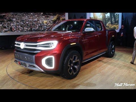 Volkswagen Atlas Tanoak Truck and Cross Sport Concepts Close-Up Look!