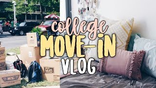 COLLEGE MOVE-IN VLOG | Temple University