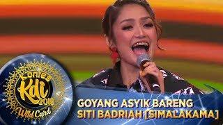 Goyang Asyik Bareng Siti Badriah SIMALAKAMA  WildCard KDI (198)