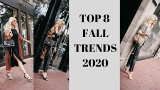 Top 8 Fall Fashion Trends Of 2020 | Fashion Over 40