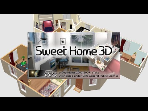 Sweet home 3d est un logiciel libre d 39 am nagement d for Dessin de maison en 3d