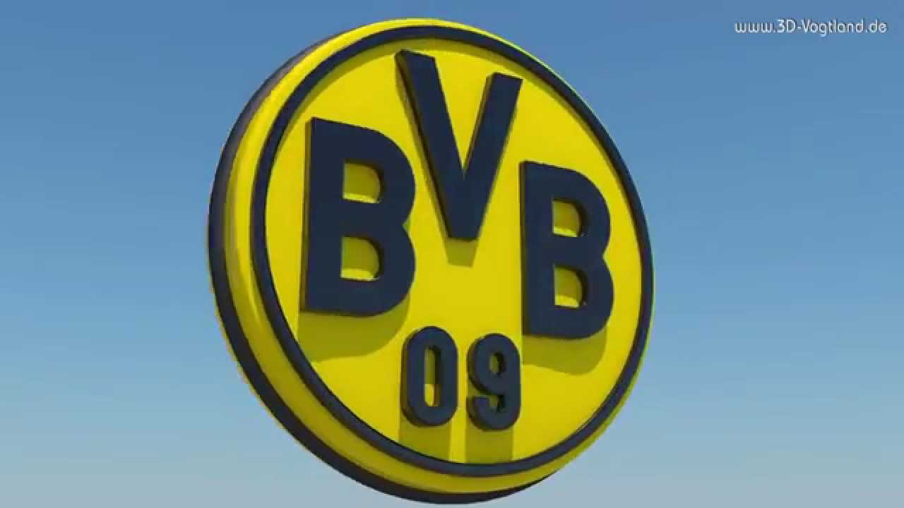 3d logo hd animation borussia dortmund bvb youtube. Black Bedroom Furniture Sets. Home Design Ideas