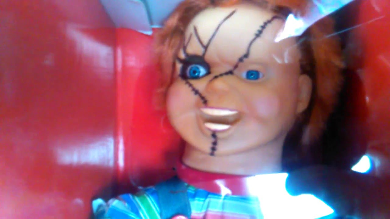 The Talking Chucky Doll Child S Play Youtube
