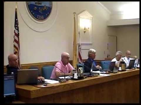 Upper Township Committee Meeting 08/26/2013