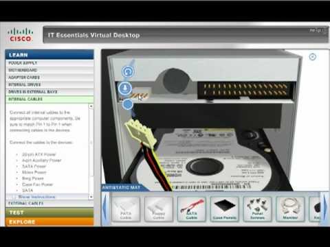 IT Essentials Virtual Desktop مقدم من Cisco