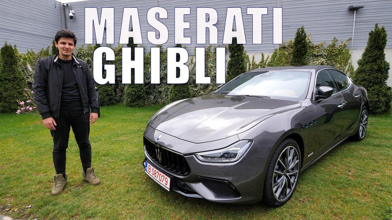 Maserati Ghibli Hybrid - Criza vârstei mijlocii, dar ECO! - Cavaleria.ro