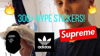 Hello everyone, thanks for watching, be sure to subscribe for more supreme, bape, and palace videos! 300+ HYPEBEAST