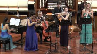 Mary Elizabeth Bowden, Brandenburg Concerto No.2 in F major, BWV 1047, Mvt. III. Allegro assai