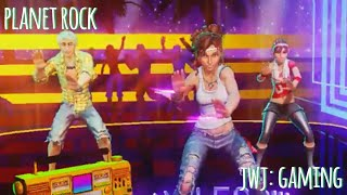 Dance Central 3 - Planet Rock [Hard 100% Gold Stars] (Re-Do)