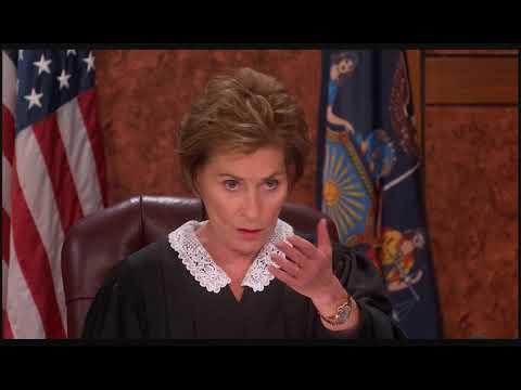 Larry David on Judge Judy