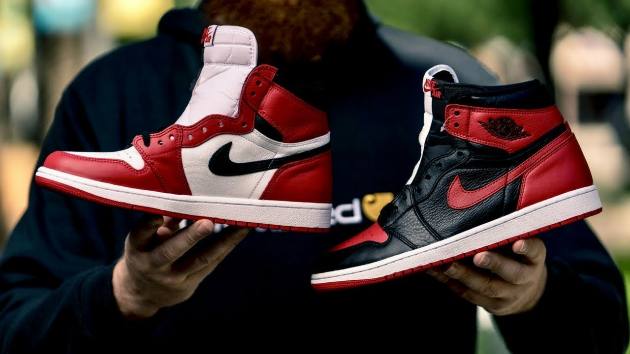 a616755fadd2f3 HOW GOOD IS THE AIR JORDAN 1 HOMAGE TO HOME  - YouTube