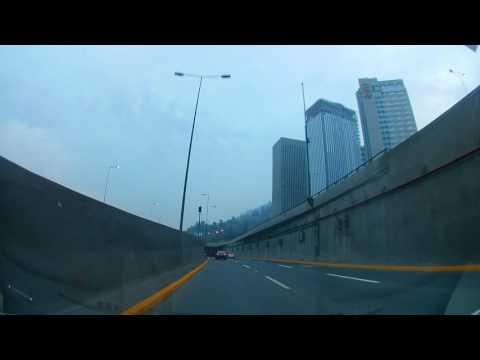 Entrando a Santiago HD ultra 4K , Eken H3R cam  25FPS