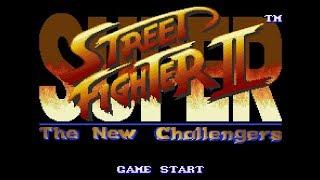 🔴 BORA DE CLÁSSICO? SUPER STREET FIGHTER  2 : THE NEW CHALLANGERS E TURBO