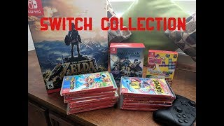 My Nintendo Switch Game Collection (2018)