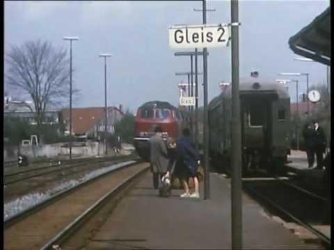 Bahnhof Preetz im Frühjahr 1975