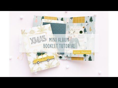 DIY Mini Album Booklet Tutorial