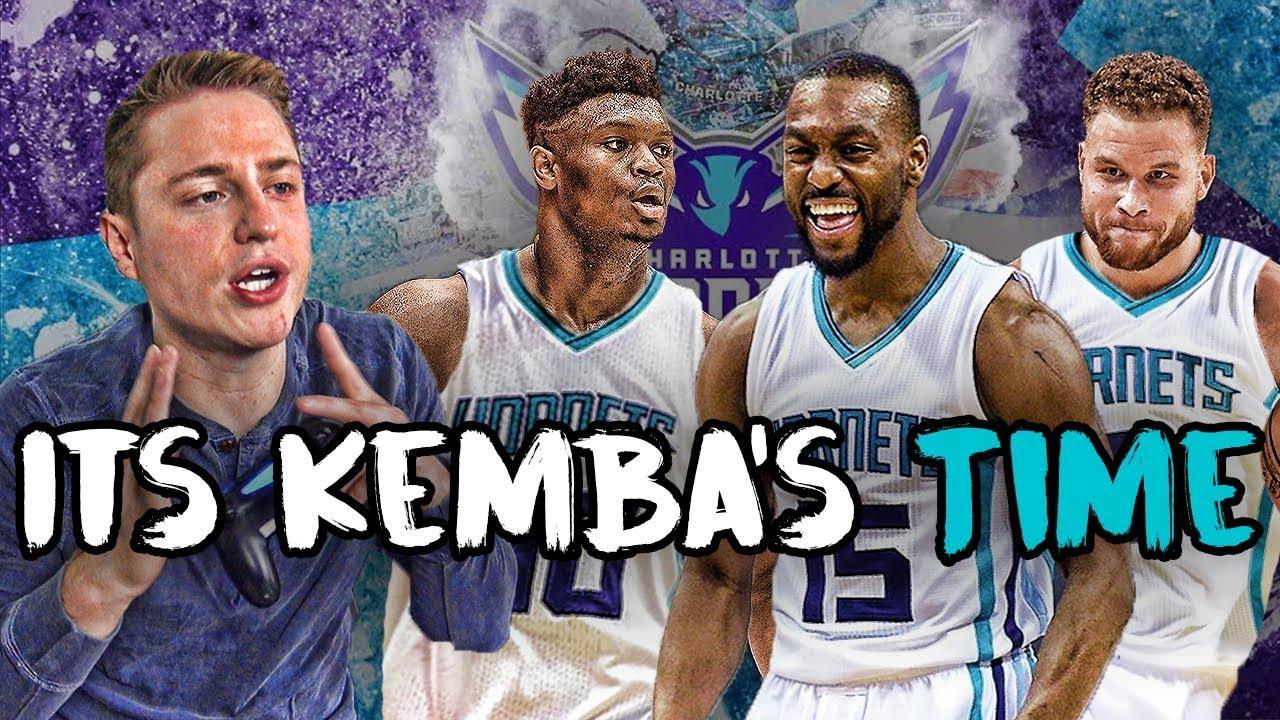 REBUILDING THE CHARLOTTE HORNETS AROUND KEMBA NBA 2K19