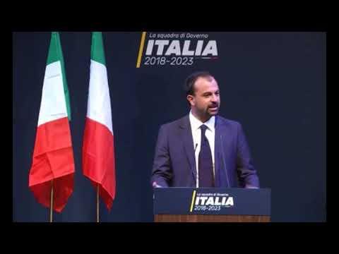 Lorenzo Fioramonti - Presentazione squadra di governo M5S -