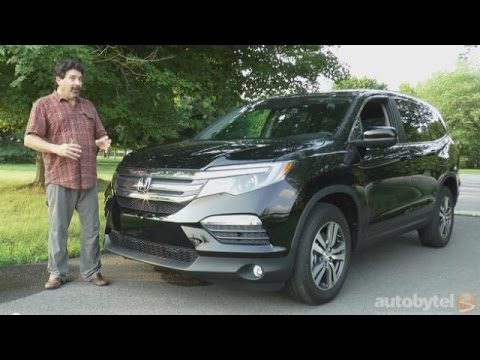 2016 Honda Pilot EX-L Test Drive Video Review *All New Redesign* - YouTube