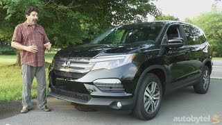 2016 Honda Pilot EX-L Test Drive Video Review *All New Redesign*