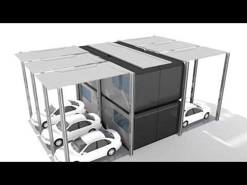 Parking + Housing - Space Efficiency Solution