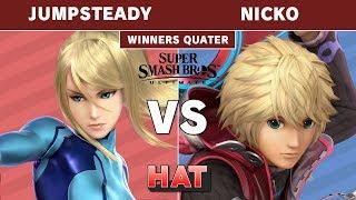 HAT 48 - FAD | Nicko (Shulk) Vs. Jumpsteady (Zero Suit) Winners Quarters - Smash Ultimate Tournament